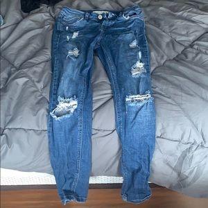 TopShop Moto Jeans SZ 25w 28l petite. Worn once